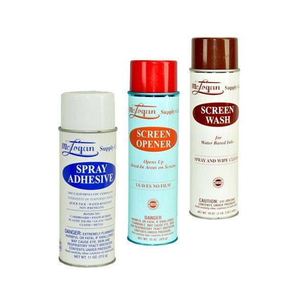 Spray Adhesive and Screen Opener