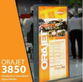 ORAJET 3850 - Translucent Calendered Inkjet Media