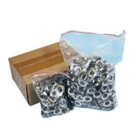 Self Piercing Nickel Grommets - 500 Pack