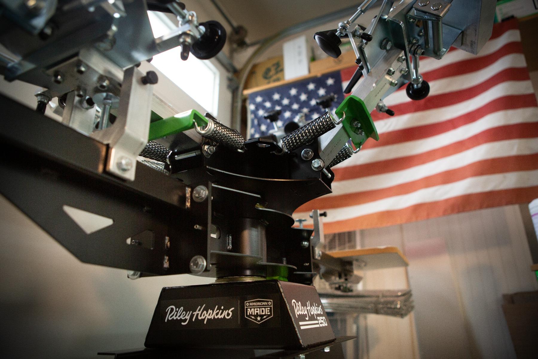 Riley Hopkins 250 Press Base